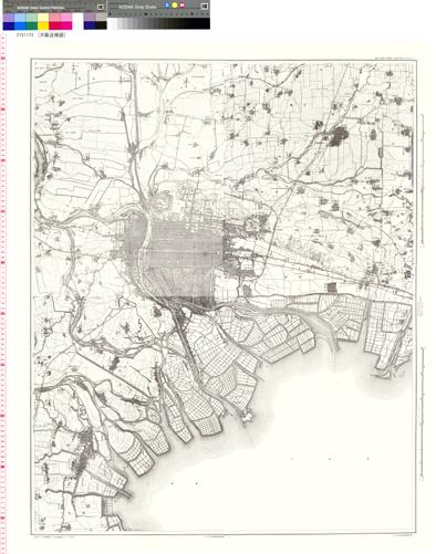 大阪近傍図