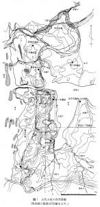 図 1 古代大坂の自然景観