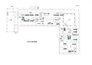 市庁舎見取り図―1階