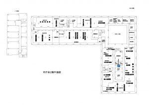 市庁舎見取り図―2階