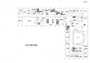 市庁舎見取り図―3階