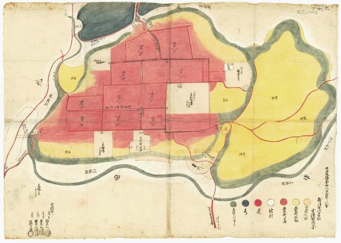 小浜町図 (文政10年(1827)